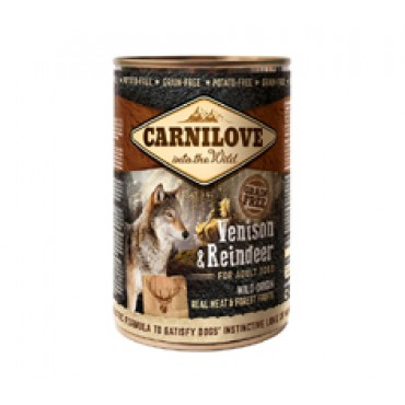 κονσέρβα για σκύλους Carnilove Adult Venison & Reindeer