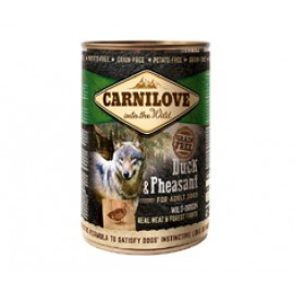 Κονσέρβα για σκύλους Carnilove Adult Duck & Pheasant