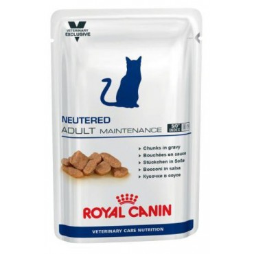 Pack 12 Royal Canin Neutered Adult Maintenance Feline (12 x 100gr)