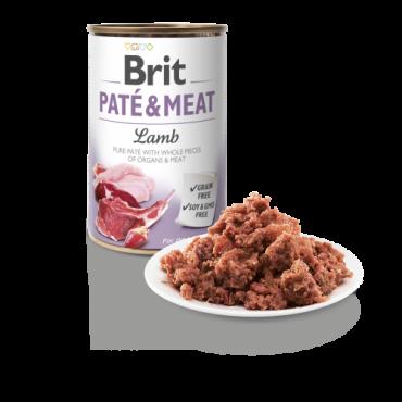 Brit Pate&Meat Lamb (Αρνί) 400gr