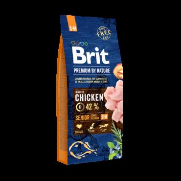Brit Premium By Nature Senior Small & Medium