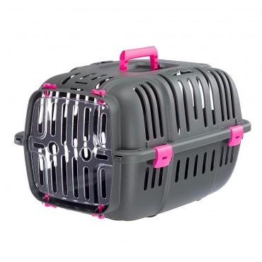 Κλουβί Μεταφοράς Για Γάτες Και Μικρόσωμα Σκυλιά Ferplast Jet 10 (47 X 32 X H 29 cm)