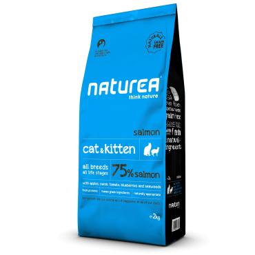Naturea Naturals Cat & Kitten Salmon 7kg