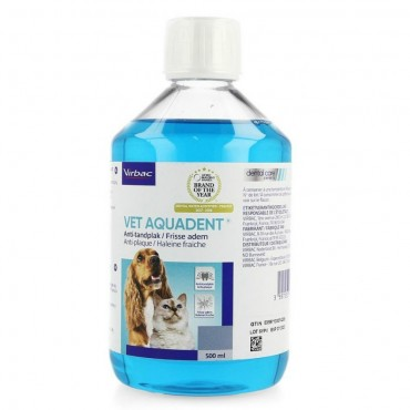 Virbac Vet Aquadent Διάλυμα Στοματικής Υγιεινής 250ml