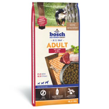 bosch, 'Adult - Lamb & Rice'   3 Kg, 15 Kg