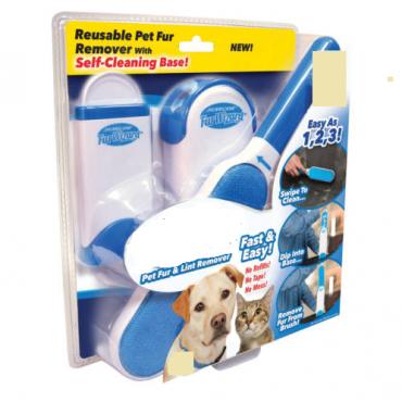 Ρολό αποχνουδωτής για τρίχες σκύλου, γάτας  Pet Fur and Lint Remover