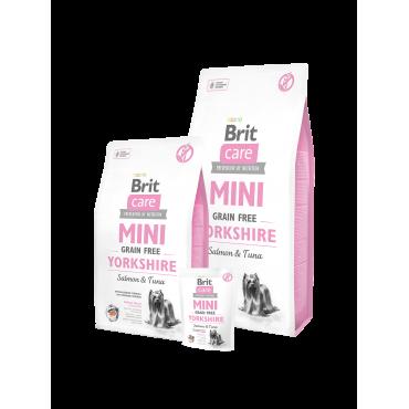 Brit Care Mini Grain Free Yorkshire 2KG (Σολομός & Τόνος)