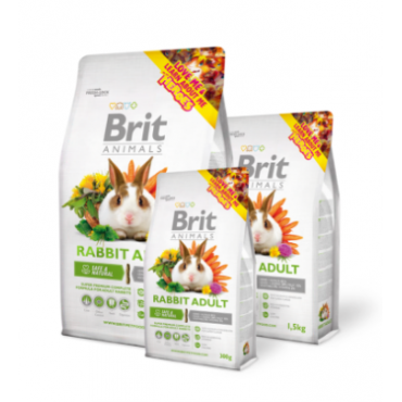 Brit Super premium πλήρης τροφή για ενήλικα κουνέλια
