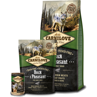 CARNILOVE Duck & Pheasant for adult dogs (12kg)