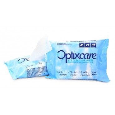 Optixcare® Eye Cleaning Wipes