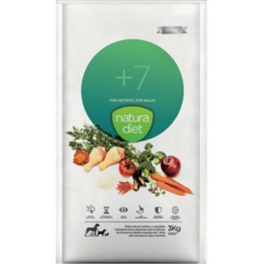 NATURA DIET +7 500gr - 3kg - 12KG