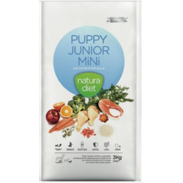 NATURA DIET PUPPY JUNIOR MINI 500gr, 3kg